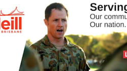 Labor Candidate Pat O'Neill Agrees To Remove Army Uniform