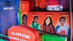 This Designer Autorickshaw In Delhi Celebrates Women Leaders In