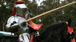 Turning Medieval Jousting Into A Full-Time