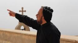 Los cristianos iraquíes que protegen un monasterio ancestral tienen grandes esperanzas en la batalla en contra del