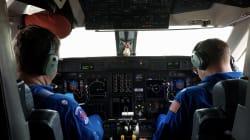Voilà ce que c'est que de piloter un avion au coeur de l'ouragan