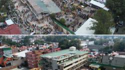 11 fotos aéreas que mantienen en pie los estragos del 19S un año