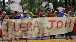 Honduras: manifestation massive contre la réélection du
