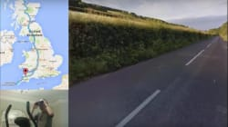 This Man Is Bicycling Across Britain Without Moving An