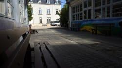 Visite guidée dans le centre de déradicalisation de Beaumont-en-Véron, où se rend Manuel Valls