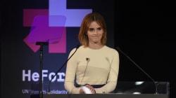 Emma Watson busca igualdad de género en las