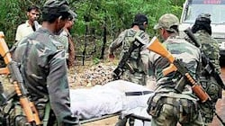 How 300 Maoist Guerrillas, Including Women Wielding AK-47s, Ambushed A CRPF Team In