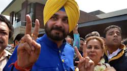 Navjot Singh Sidhu Sworn In As Cabinet Minister In The New Congress Goverment In