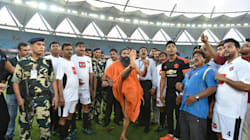 WATCH: How Yoga Guru Baba Ramdev Pulled Off A Beckham In