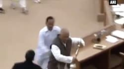 A Grown-Ass Politician Tried To Run Away With The Speaker's Ceremonial Mace While Assembly Was In