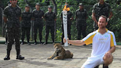 Brazilian Soldier Shoots Jaguar At Olympic Torch