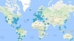 Les codes Wifi d'aéroports du monde entier réunis sur une