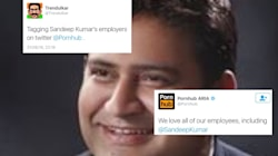 Pornhub Joins The Party As Twitter Mercilessly Trolls Sacked AAP Minister Sandeep