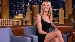 Heidi Klum Would Like You To Look At This Necklace In Her Topless