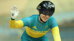 Anna Meares Makes Three Kinds Of Olympic History. Then Says