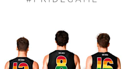 Saints And Swans Sport A Rainbow For AFL's First-Ever