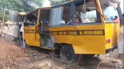 Six Children Killed, 17 Injured After School Bus Falls Into Canal In Punjab's