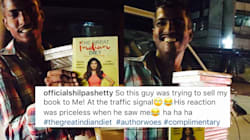 A Hawker Tried To Sell Shilpa Shetty's Book On Diet At A Traffic Light And Was In For The Surprise Of His