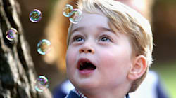 Prince George Sees Bubbles, Reaches Peak Human
