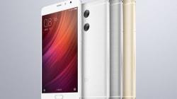 Xiaomi Launches Redmi Note Pro With Dual Camera
