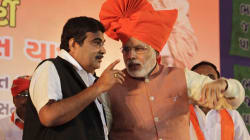'Acche Din' Was Manmohan Singh's Line, BJP Is Stuck With It: Nitin