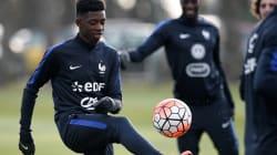 Les Bleuets du football français privés d'Euro
