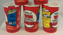 Unclaimed roll up the rim prizes images
