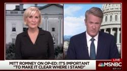 Otro presentador de MSNBC sugiere YA invocar la Enmienda 25 contra