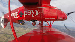 We Interviewed This Pilot Upside Down, That's How He's Flying Across