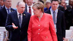 Angela Merkel Rolling Her Eyes At Vladimir Putin Is Video