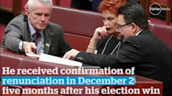 Malcolm Roberts Eligibility