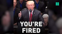 Donald Trump Just Can't Stop Firing