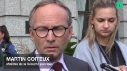 Martin Coiteux réagit au crime commis à l'endroit du président du