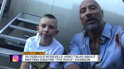 'The Rock' Makes Good On Promise To Young Hero With Vancouver