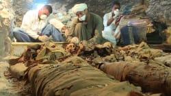 Égypte: découverte d'un tombeau de 3500 ans dans la ville de