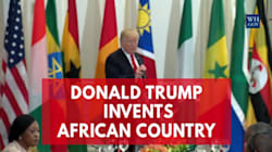 Trump Invents An African Country, And It's Doing