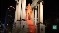 'Local Anti-Racists' Deface Macdonald Statue In