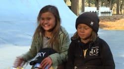 Une skateuse de 9 ans se voit déjà aux JO de Tokyo en