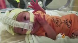 Teeny-Tiny Newborn Leaves Hospital To Start Life As