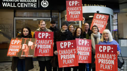 Outrage Builds As Canada Pension Plan Retains U.S. Prison