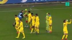Déguisés en Tortues Ninja, ils s'introduisent sur la pelouse de Rennes-PSG et enlacent