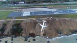 Les images impressionnantes de l'avion turc sorti de