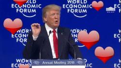 Trump a livré un discours étonnamment sentimental à Davos (mais a rechuté à la dernière
