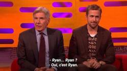 Harrison Ford joue au vieux gâteux pour la promo de