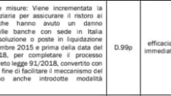 Il giallo dei risarcimenti ai risparmiatori truffati dalle banche: nel 2019 lo stanziamento è zero (di G.