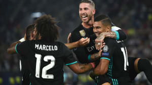 El Real Madrid gana la Supercopa de Europa tras imponerse al Manchester United