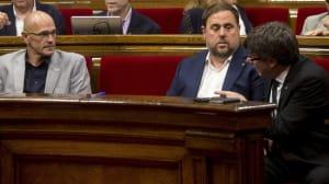 Puigdemont reúne a sus consellers para comprobar su grado de implicación con el