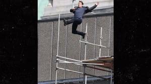 Tom Cruise se lesiona al saltar entre dos azoteas en el rodaje de 'Misión: Imposible