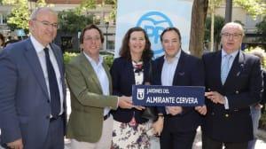 """Madrid suple con unos jardines el """"agravio"""" de Barcelona al almirante"""