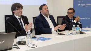 La hacienda catalana completa su despliegue y Puigdemont avisa: